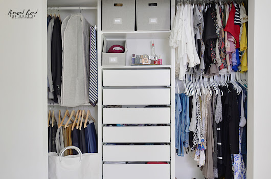 Organizing tips for a clutter-free closet - Know How She Does It
