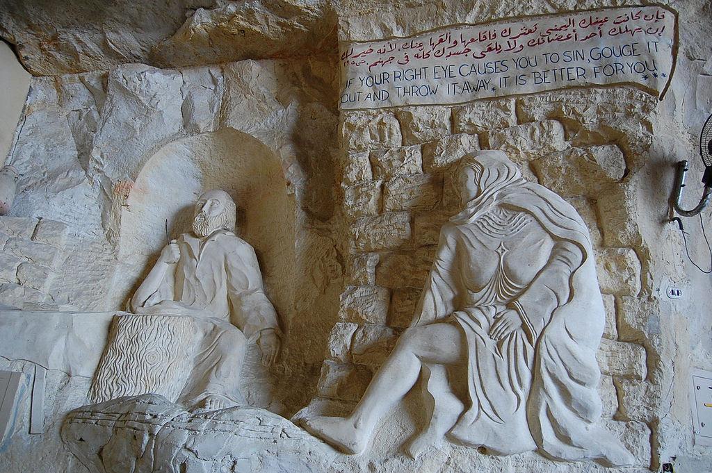 A incrível Igreja da Caverna dos Zabbaleens no Cairo 08