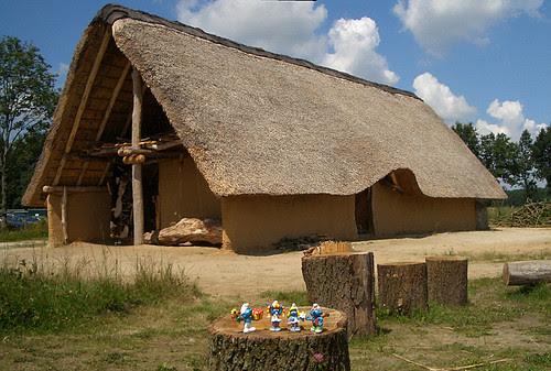 Ricostruzione casa preistorica