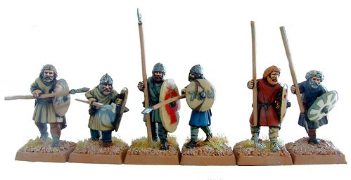 Romano British spearmen