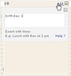 Scrybe Calendar Addevent
