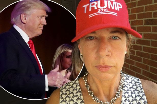 Katie Kopkins and Trump