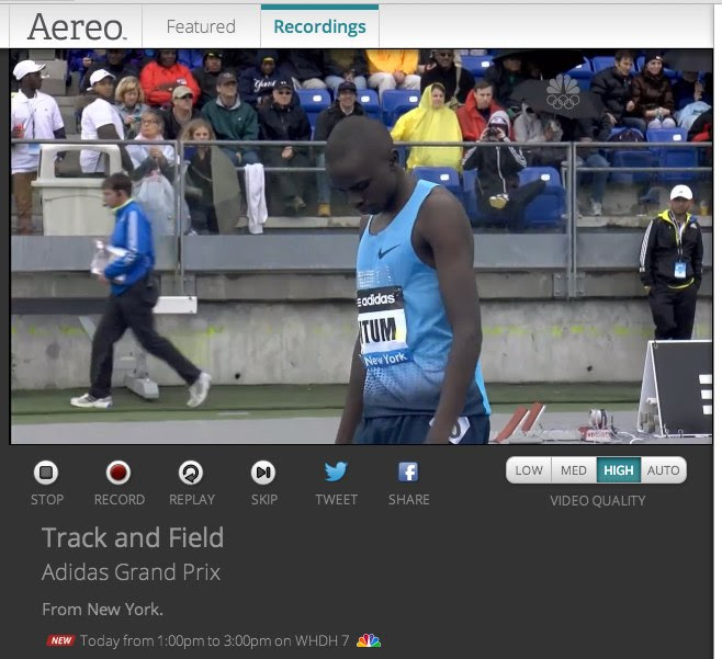Aereo:Track and Field