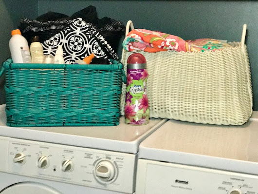 Summer Laundry Room - Uncommon Designs
