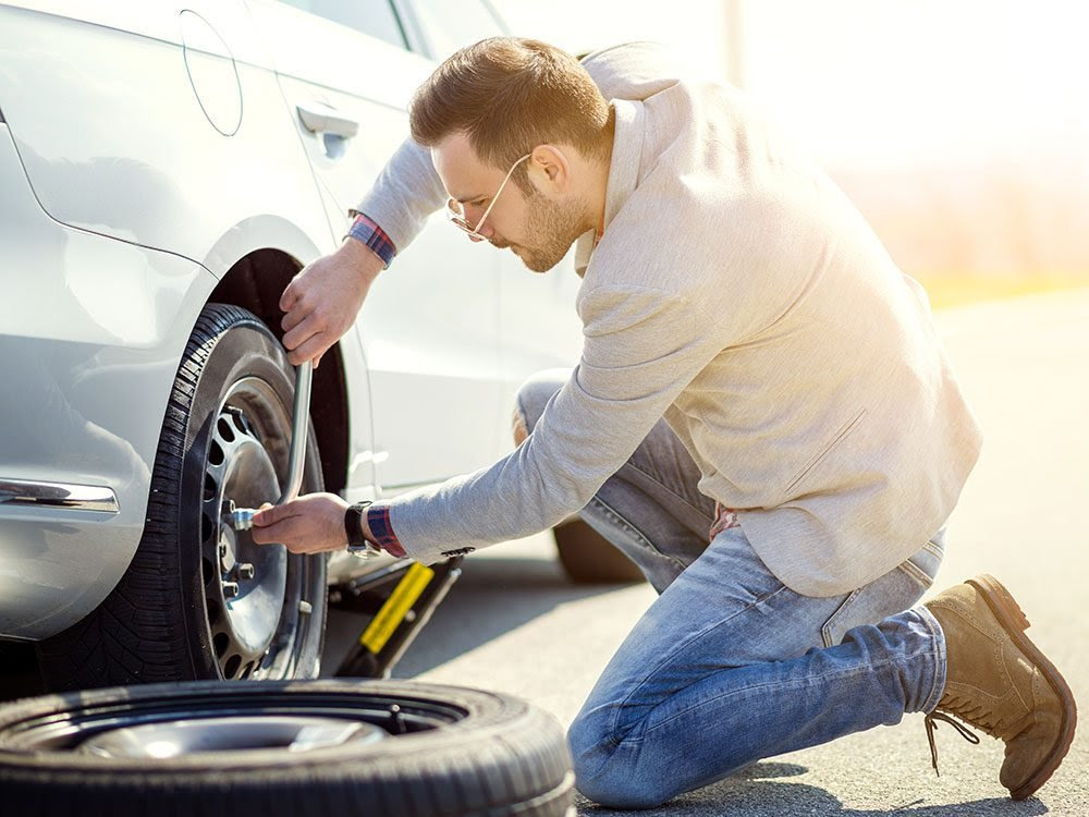 How To Change A Flat Tire Step By Step Instructions
