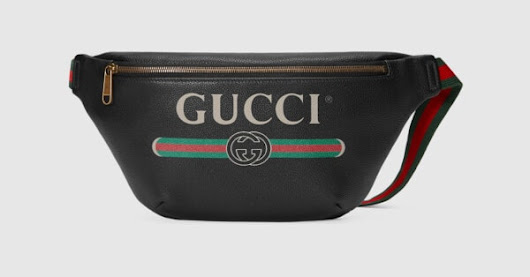 Gucci Print leather belt bag - Gucci Gifts for Her 4938690GCCT8164