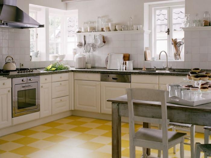 bodenbelag küche  welche sind die varianten für die