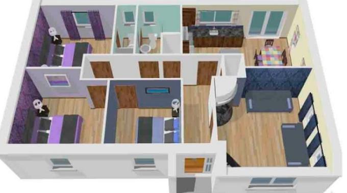 Interior Kamar Tidur Rumah Minimalis Modern   Ide Rumah Minimalis
