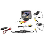"""3.5"""" Wireless Backup Camera & Monitor System with Night Vision"""