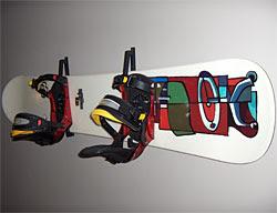Boogers Snowboard Wall Rack