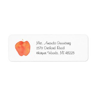 Apple zazzle_label