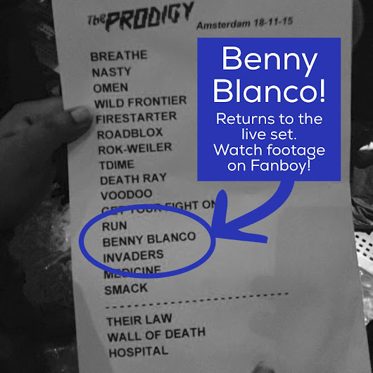 Hey Remember Me? Benny Blanco From The Bronx! – Benny Blanco is back! Watch the footage!The Prodigy Fanboy – Liam Howlett Keith Flint & Maxim.The Prodigy Fanboy - Liam Howlett Keith Flint & Maxim. | The Prodigy Fanboy - Liam Howlett Keith Flint & Maxim.