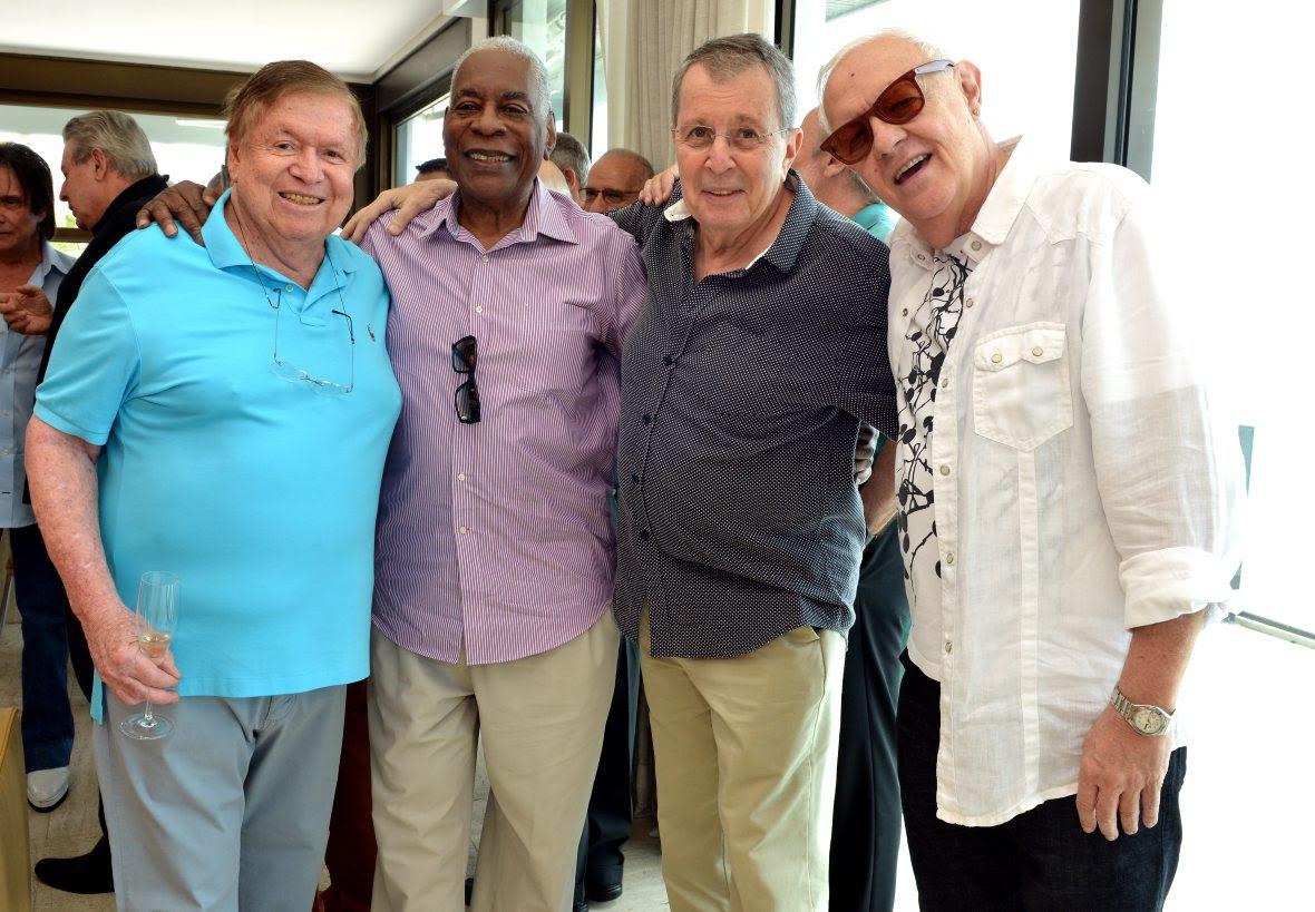 boniDSC_2963 Boni , Haroldo Costa , daniel filho e Ney Latorraca - Aniversário 80 Anos BONI - Novembro 2015 - Foto CRISTINA GRANATO