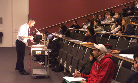 In the lecture room: UK universities offer students a high quality of education