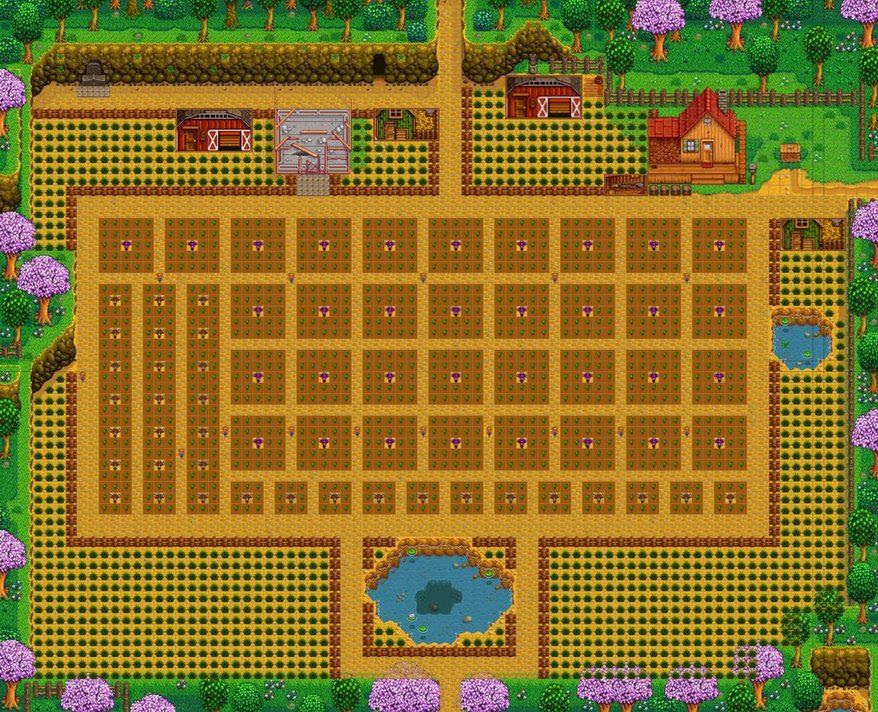 This plan was made by Reddit user Squishydew on the Stardew Valley ...