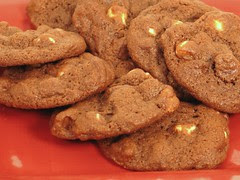 Triple Choc Cookies 1