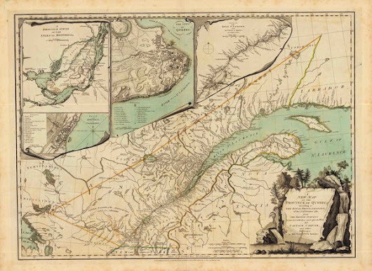A New Map of the Province of Quebec, According to the Royal Proclamation, of the 7th of October, 1763, from the French Surveys Connected with those Made after the War by Captain Carver, and others in His Majesty's Service