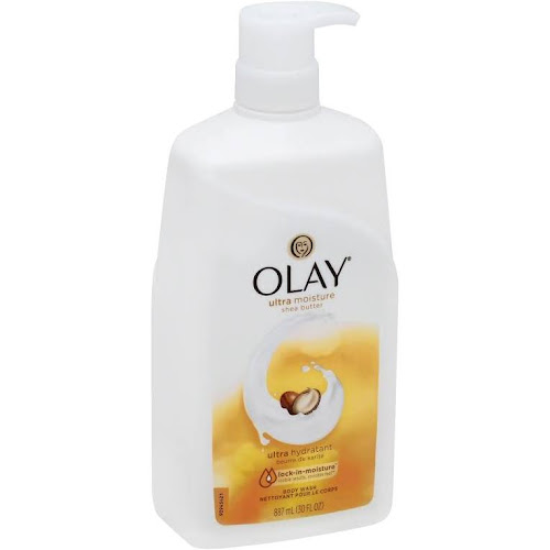 Olay Body Wash, Ultra Moisture, Shea Butter - 30 fl oz