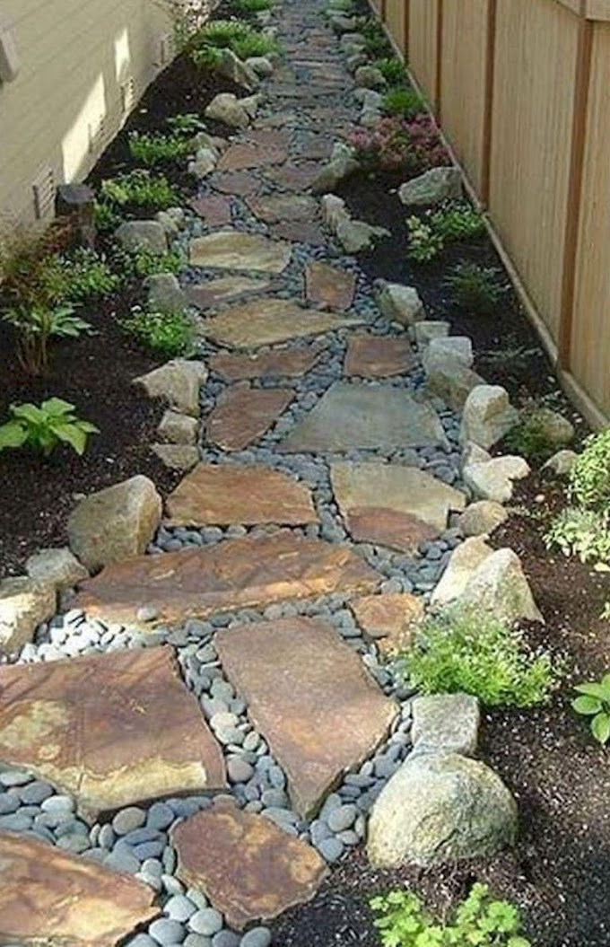 Try These Easy Rock Garden Paths - Projects