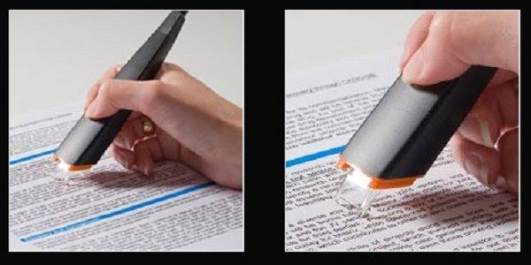 маркер для сканирования текста