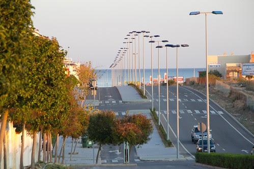 Mar Mediterráneo desde Pilar de la Horadada