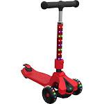 Jetson Saturn Light Up 3-Wheel Kids' Kick Scooter - Red