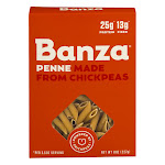 Banza Penne Chickpea Pasta - 8 oz box
