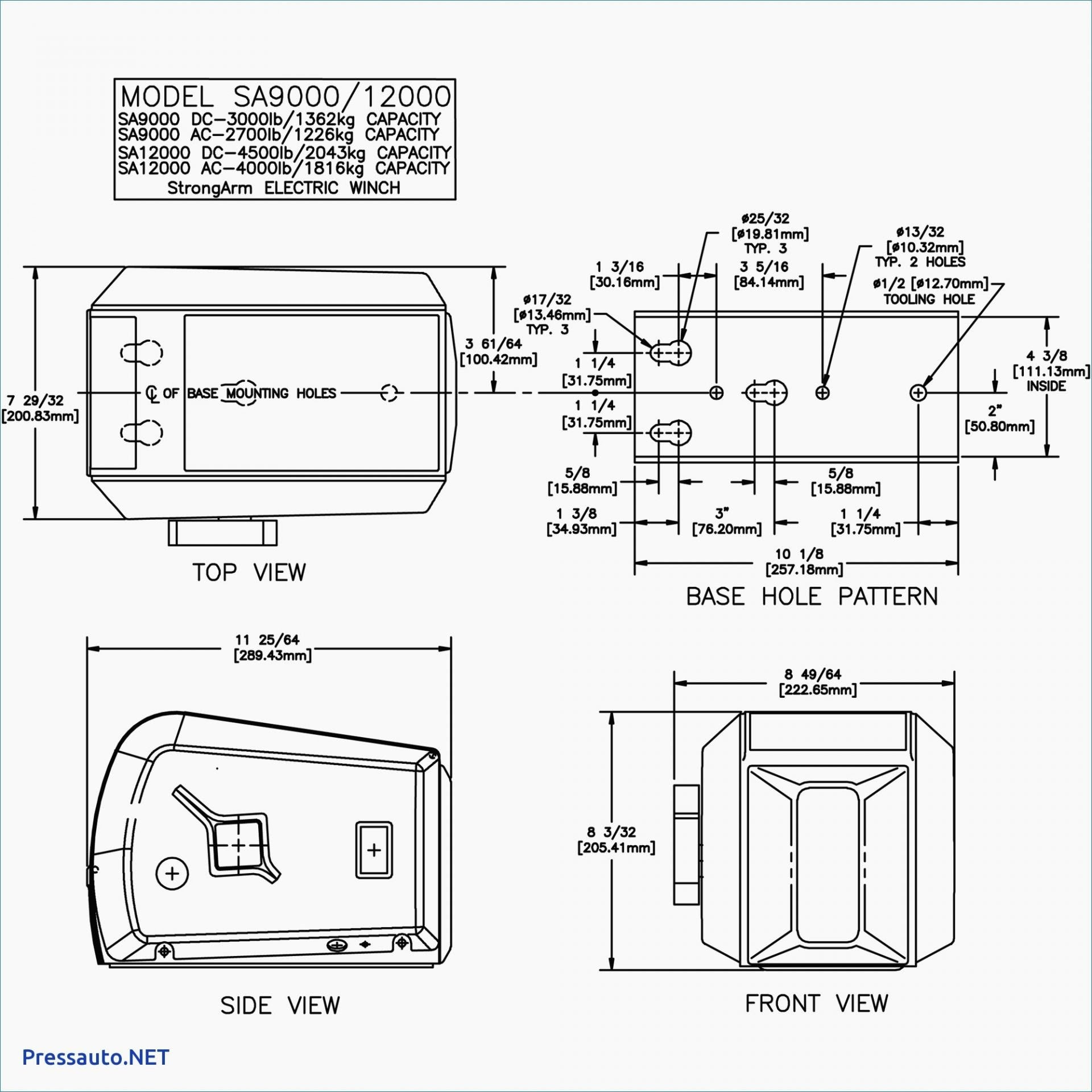 Warn M8000 Winch Wiring Diagram - General Wiring Diagram