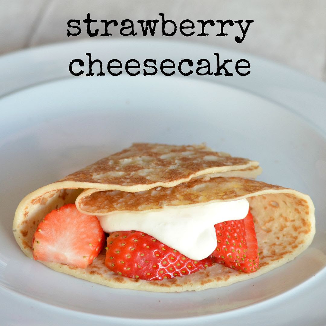 Strawberry Cheesecake pancake
