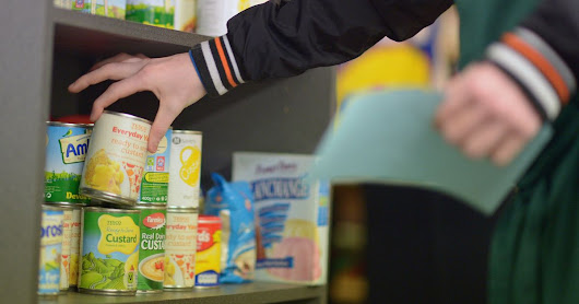 10 million meals given out by foodbanks in just a year - and Universal Credit causing even more hunger