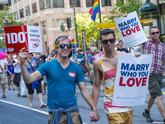 Marriage Equality Support at All-Time High; Republicans Still Lag