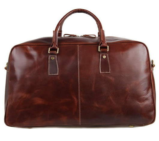 Glossy Leather Large Capacity Overnight/Travel/Weekend Luggae Bag