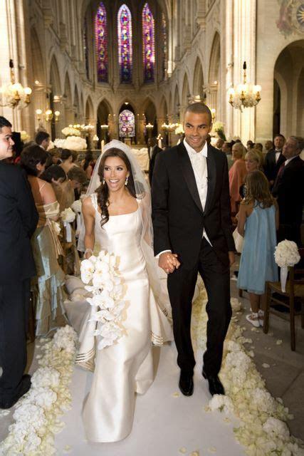 Eva Longoria and Tony Parker 2007 #Wedding   I Do