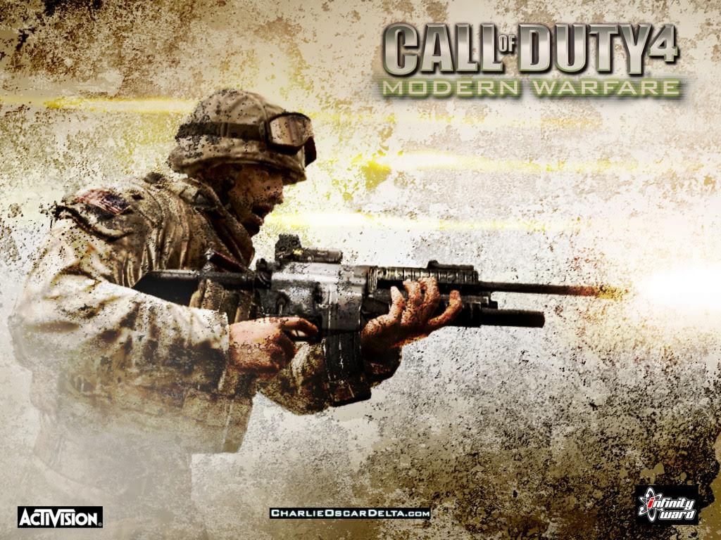 Call Of Duty 4 Call Of Duty Games Wallpaper 32954719 Fanpop