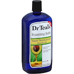 Dr Teals Foaming Bath, Super Moisturizer Avocado Oil - 34 fl oz