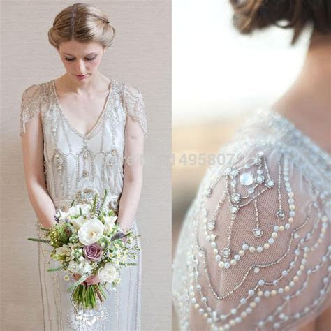 2015 New Arrival Art Deco Wedding Dresses Sheath Open Back