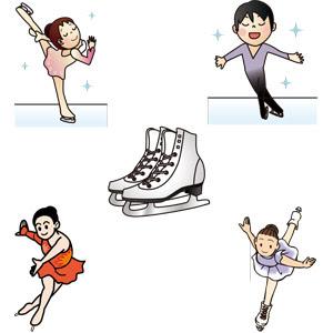 フィギュアスケート Gahag 著作権フリー写真イラスト素材集
