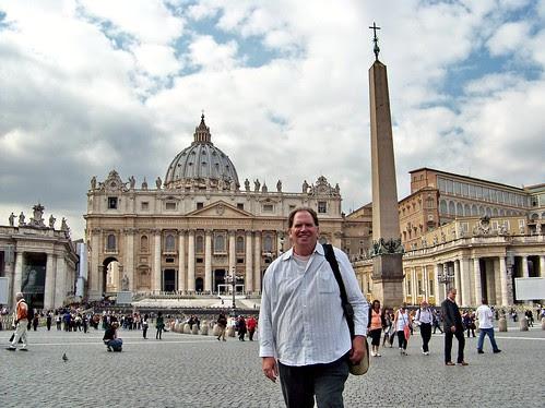 IT10AIU Me at Saint Peter's, Vatican 2010