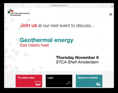 System Integration: Gas meets Geothermal, Amsterdam/ Netherlands 8 Nov. 2018