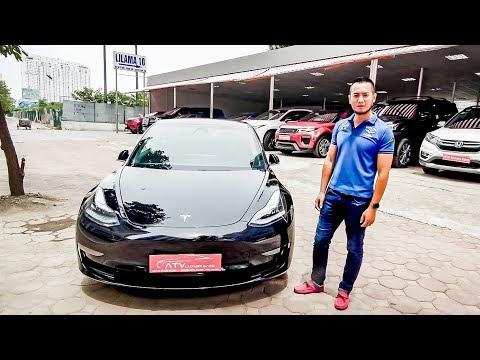 Báo Zing: Xe điện Tesla Model 3 đầu tiên ở Việt Nam