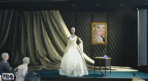 moon rabbit??   Lady Lunafreya?s wedding dress