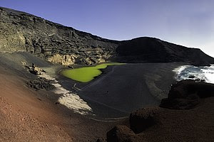 Crater and Laguna of El Golfo, Lanzarote