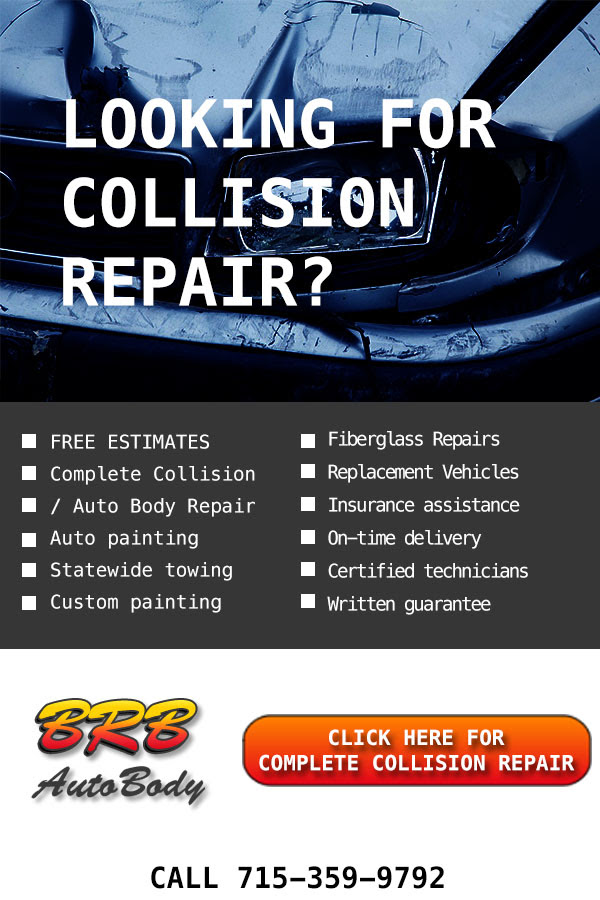 Top Rated! Professional Collision repair in Rothschild Wisconsin