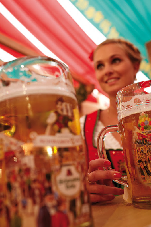Celebrate 500 Years of Germany Beer At the Stuttgart Canstatter Festival