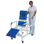 MJM International 193 Reclining Shower Chair