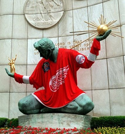 Spirit of Detroit 1998