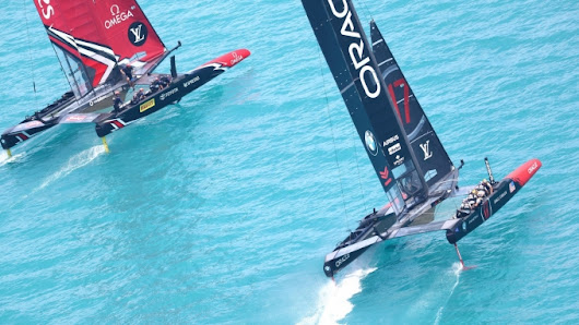 America's Cup Match – Day Five Race Report - Emirates Team New Zealand wins the America's Cup