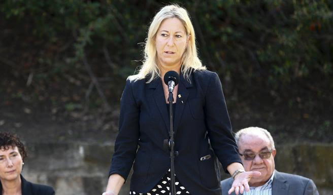 La consellera de la Presidència y portavoz del Govern, Neus Munté