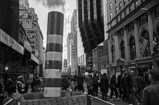 Near Trump Tower, 55th Street and 5th Avenue - Simon Griffee