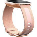 Fitbit Versa 2 Woven Band - Pink - Small